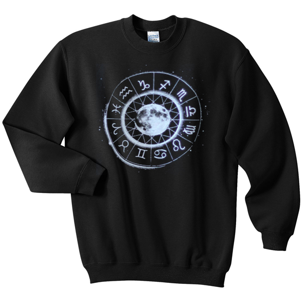 zodiac moon sign Sweatshirt