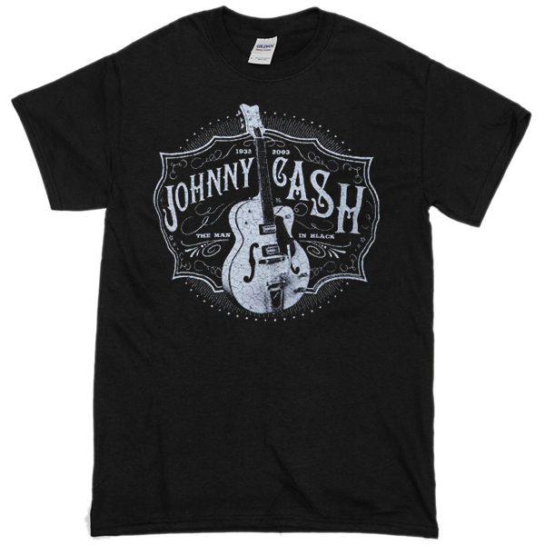 Johny Cash Blues Vintage T-shirt