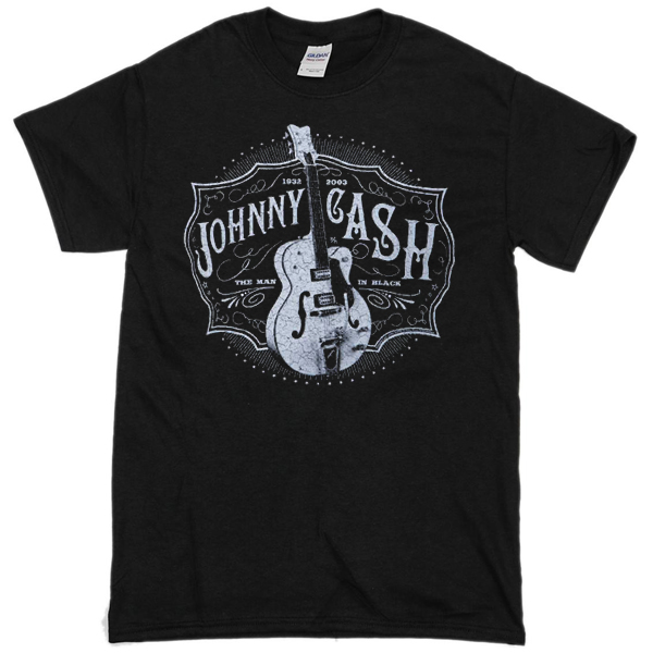 Johny Cash Blues Vintage T-shirt