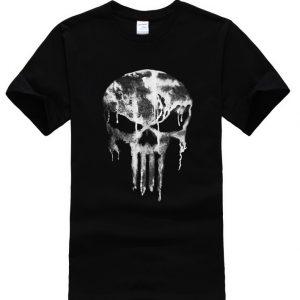 Punisher Melting Logo T-shirt