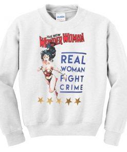 Wonder Woman Vintage Poster Sweatshirt