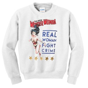 Wonder Woman Vintage Poster Sweatshirt