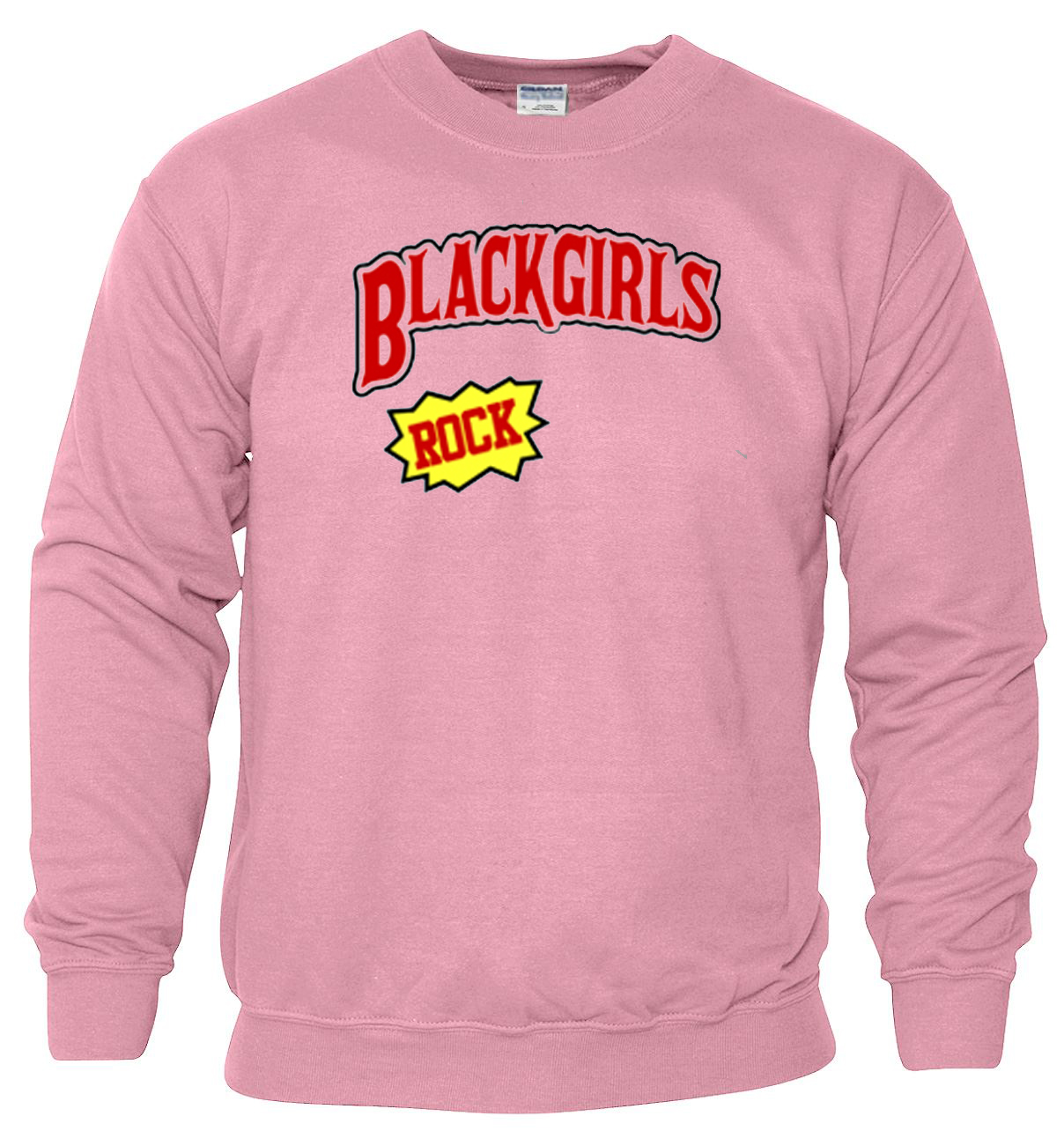 Black Girl Rocks pink Sweatshirt