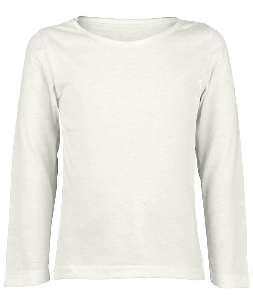 68ae901f6bb1 White long sleeves T-shirt - Basic tees shop