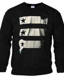 Barn and Stars Anthem made Sweatshirt