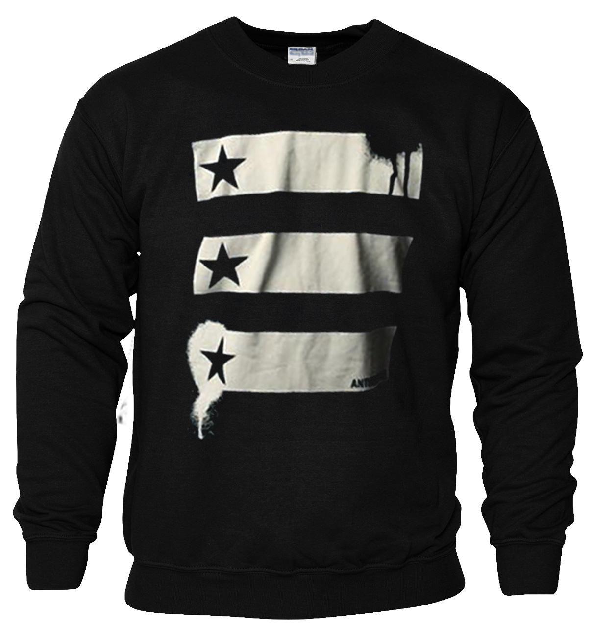 Barn and Stars Anthem made Sweatshirt