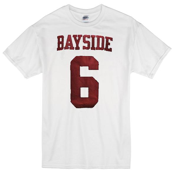 Bayside 6 white T-shirt