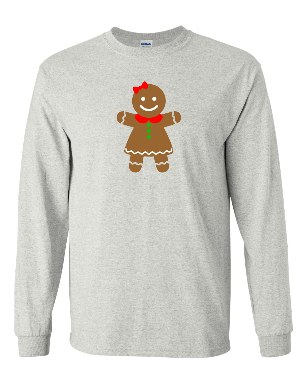 Gingerbread Girl Long Sleeve T-shirt