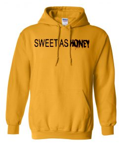 Sweet As Honey Yellow Hoodie