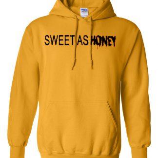 Sweet As Honey Yellow Hoodie