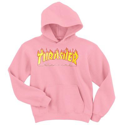 Thrasher Magazine Pink Hoodie