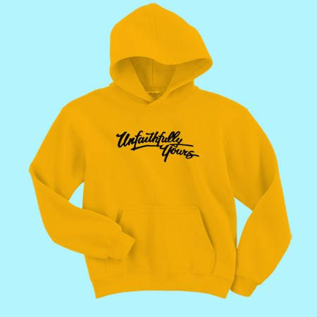 Unfaithfully Yours Yellow Hoodie