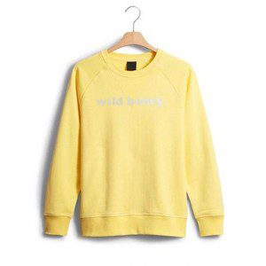 Wild Honey Yellow Sweatshirt