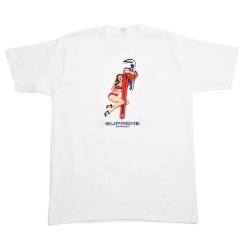 Wrench Supreme White T-shirt