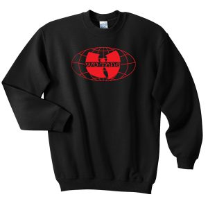 Wu Tang Clan Logo Worldwide Sweatshirt