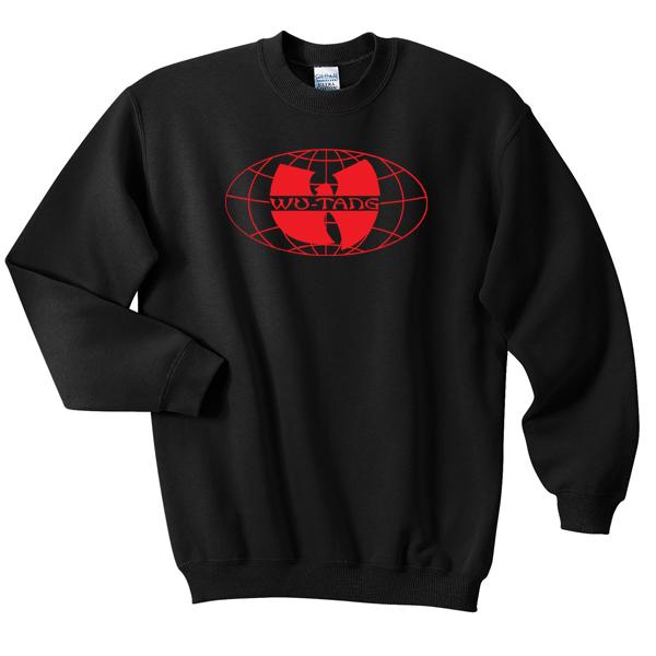 Wu Tang Clan Logo Worldwide Sweatshirt