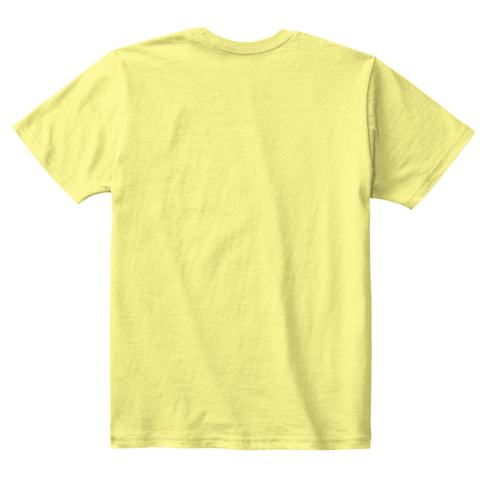 Yellow blank T-shirt
