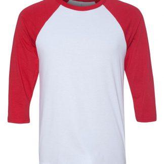 blank raglan T-shirt
