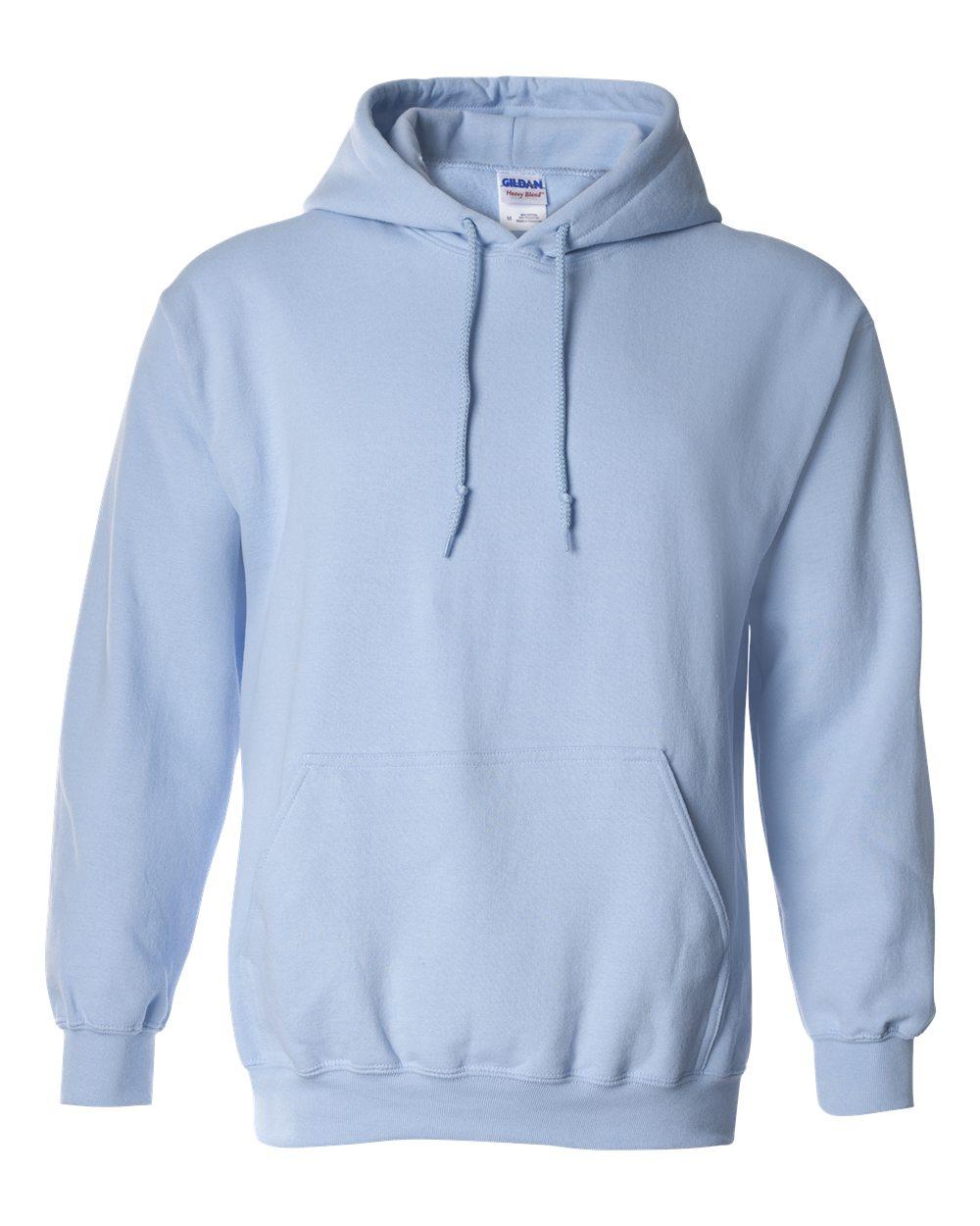 Light Blue Gildan Hoodie