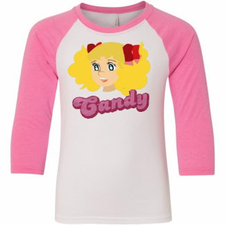Candy-Candy Movie Series Raglan T-shirt