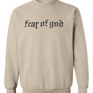 Fear Of God Beige Sweatshirt
