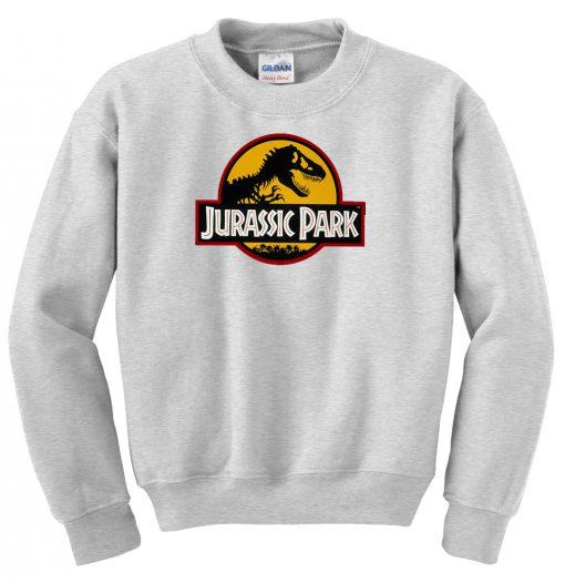 Jurassic Park Grey Sweatshirt