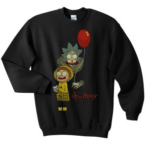 Rick and Marty IT movie Sweatshirt