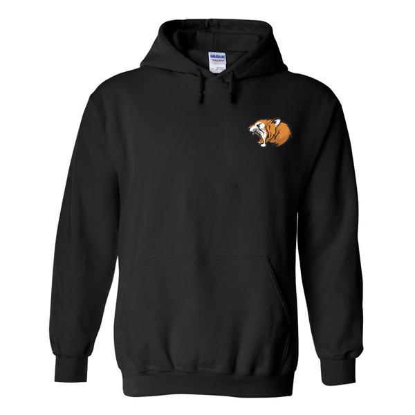 Roar Tiger Head Pocket Hoodie