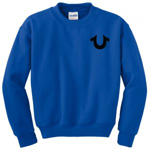 Royal Blue True Religion Sweatshirt