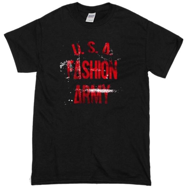 USA FASHION ARMY T-shirt