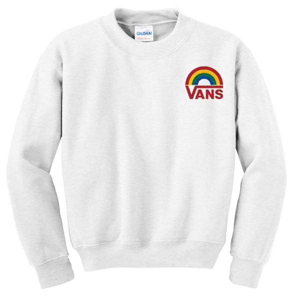 Vans Rainbow Sweatshirt