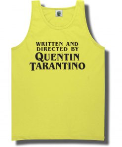 Written and Directed by Quentin Tarantino Lemon T-shirt