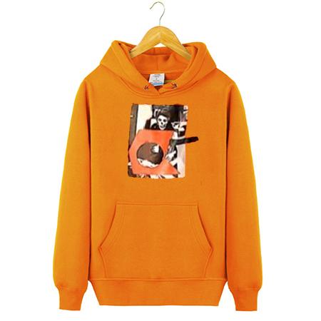 Ethan Orange Hoodie
