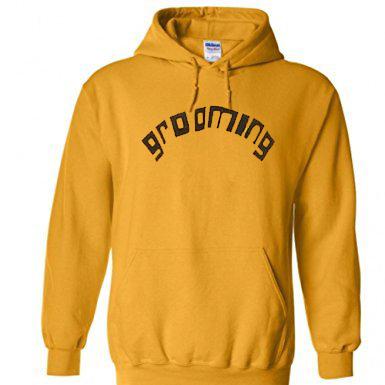 Grooming Yellow Hoodie
