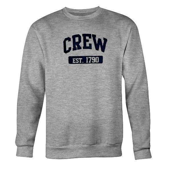 CREW Est. 1790 Grey Sweatshirt