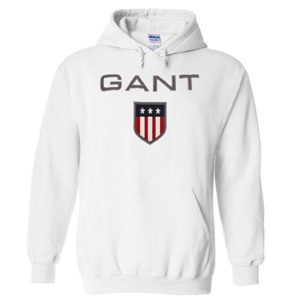 GANT White Hoodie