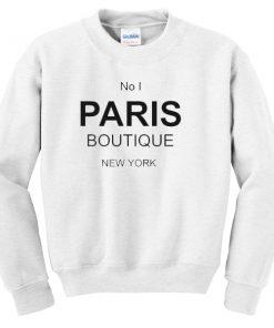 No 1 PARIS Boutique Sweatshirt