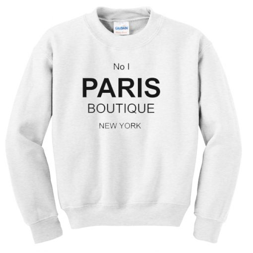 No 1 PARIS Boutique Sweatshirt