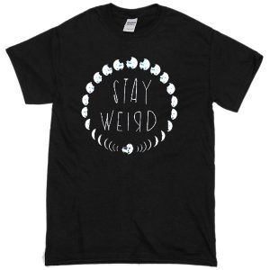 Stay Weird Moon Phase T-shirt