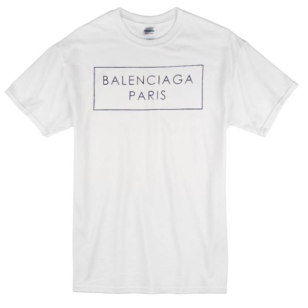 e18358e88a8158 BALENCIAGA Paris T-shirt - Basic tees shop