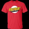 BAZINGA Red T-shirt