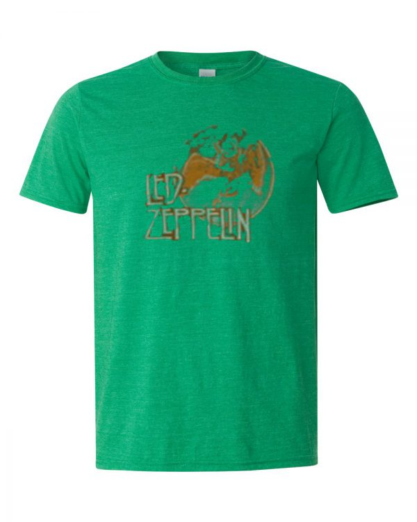 LED ZEPPELIN Green T-shirt