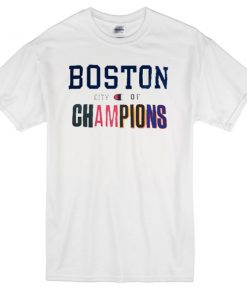 BOSTON City of Champion T-shirt