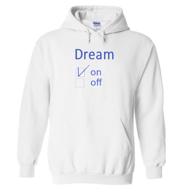 Dream On Checked Hoodie