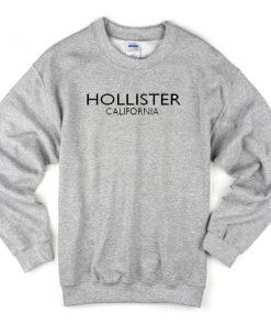 Hollister California Grey Sweatshirt