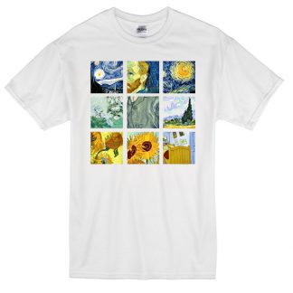 Van Gogh Paintings T-shirt