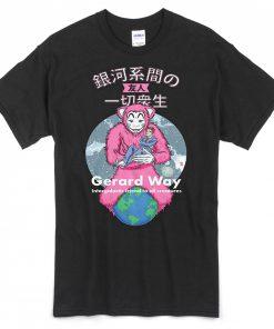 Gerard Way Japanese Words T-shirt