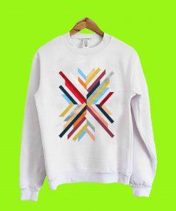 Abstrak Geomatric sweatshirt