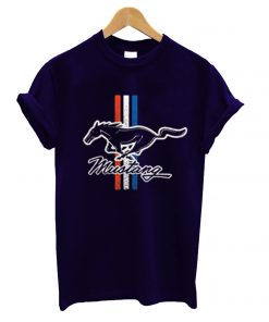 Ford Mustang Classic Stripes T shirt