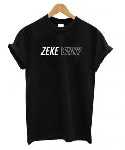 Zeke Who That's Who Black T shirt